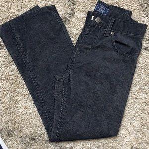 Boys gap SZ 8 dark grey corduroy pants